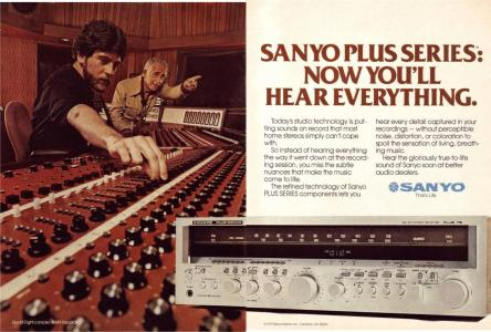 A&M Studios in Sanyo ad