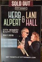 Herb Alpert & Lani Hall tour poster 2019