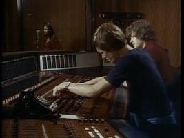 Richard Carpenter in Studio D 1975