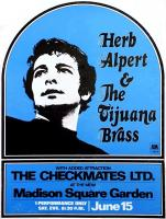 Herb Alpert & the Tijuana Brass MSG 1868 poster