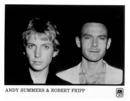 Andy Summers & Robert Fripp Publicity Photo