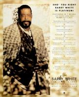 Barry White Advert