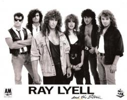 Ray Lyell and the Storm Publicity Photo