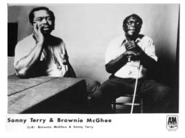 Sonny Terry & Brownie McGhee Publicity Photo