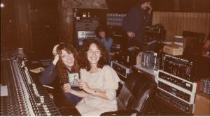 Lani Hall and Allee Willis, A&M Studios 1980