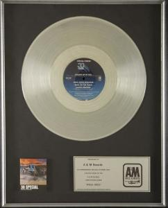38 Special: Special Forces A&M Records in-house platinum certification